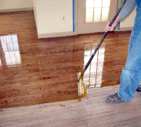 Flooring Hardwood install a glue down engineered hardwood floor Carroll County Hardwood Flooring Finishing